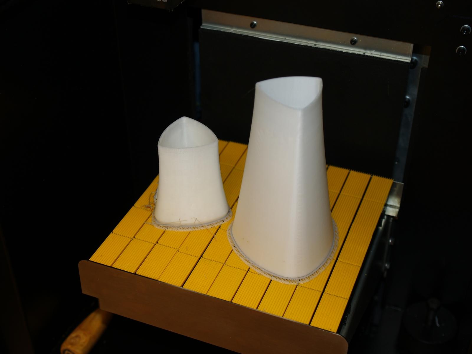 prototipas spausdinamas iš dviejų dalių